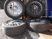 Alloy Wheels from my Jaguar 235-55 ZR 17 103W XL