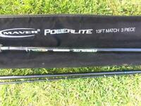 Maver powerlite 13ft match