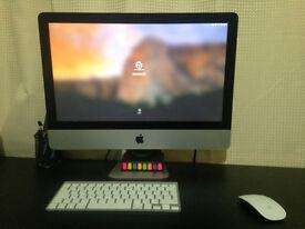 "iMac 21.5"", Late 2013, (Grade A) + Box + Receipts"