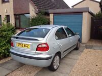 renault megan 1.6 and ford focus 1.6 both 2002 swap px