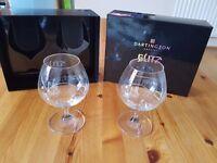Beautiful brandy glasses - Dartington Crystal