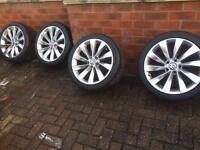 Genuine VW Scirocco alloys