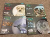 Read and Write Inc set of 5 grey non-fiction books