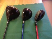 Full Set of Bridgestone Golf Clubs in excellent condition.