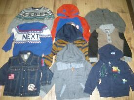 A lovely set of warm boys clothes (Jackets/Jumpers etc) Next/Gap etc ages 2-3 years