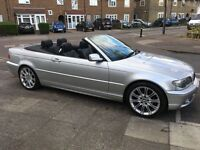 BMW 3 Series Convertible (2004 Plate)