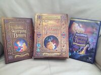 Sleeping Beauty Collector's Platinum Edition 2 Disc DVD And Book Set
