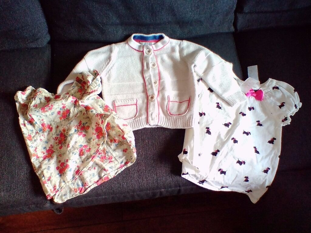 Girls Baby children clothing excellent conditionFor 18 months to 4 years, Mothercare, M&S, Nextin Exeter, DevonGumtree - Hello, We have for sale baby/child clothes all in excellent condition from a smoke free home. In this post Mothercare 18 24 months flowery top Peacocks 18 24 months white top Indigo 1 1/2 2 years white jumper SOLD! M&S blue bottoms with stars 9 12...