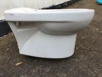 Twyford Round Wall Hung WC