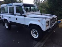 LAND ROVER DEFENDER 110 White 2.5 200tdi COUNTRY not 90 or 300tdi