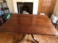 Victorian Tilt top Dinning Table