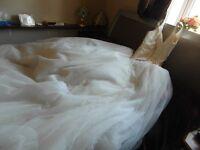 wedding dress made by stewart parvin