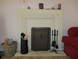 Stone fire place surround for sale