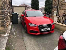 Audi A3 s line saloon 2014 only done 34k bargin @ 11995