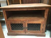 Solid wood tv cabinet FREE DELIVERY PLYMOUTH AREA