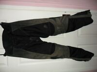 Hien Gericke motorcycle trousers