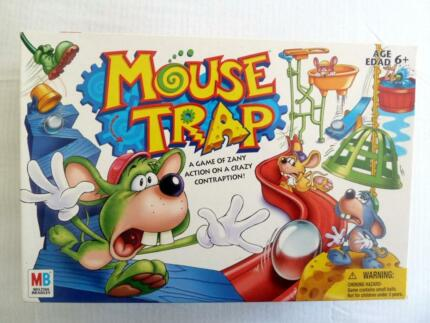 Board Game Traps Mouse Trap 2005 Board Game by