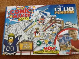 Disney Club Penguin Comic Maker Kit
