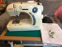 Jenome sewing machine also overlocker