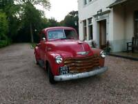 1953 Chevy flatbed 3100 pick-up