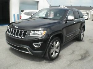 2016 Jeep Grand Cherokee Limited 4X4 TOIT NAV CAMÉRA MAG 20PO