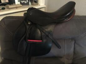 Stubben Siegfried jumping saddle