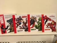 Marvel Books Set of 3 (New)