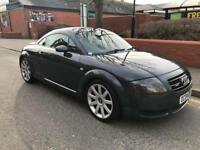 Audi TT 1.8 turbo 2dr 6speed quattro 180hp