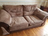 **LOVELY 2 SEATER SOFA & CHAIR**