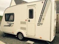 Caravan Swift Charisma 220 2 berth 2010 as new complete with caravan mover.