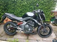 KAWASAKI ER650N CAF 2010 BLACK BARGAIN LONG MOT