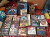 Amiga games ,books or swap for pc games