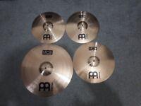 Meinl MCS Bronze Cymbals