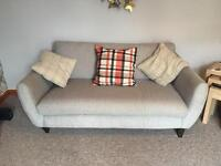 2X Two Seater Sofa's