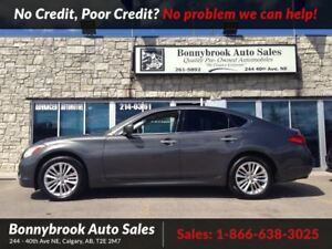 2012 Infiniti M37 X Leather w/navigation awd p/sunroof