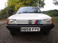 Peugeot 205 XE, Low Mileage, MOT- No Advisories, A Retro Classic