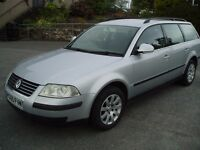 VW Passat Trendline 1.9tdi 100 bhp estate, FSH and receipts, recent Clutch and DMF