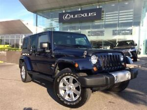 2013 Jeep WRANGLER UNLIMITED Sahara Bluetooth Removable Roof 4x4