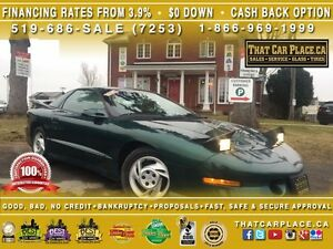 1994 Pontiac Firebird Formula-Clean Carproof-6Spd-5.7L-275 HP-V8