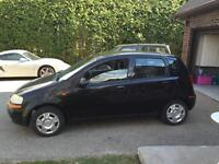 2004 Chevrolet Aveo 4door 5speed Hatchback