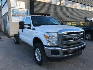 2012 Ford F-350 XLT Extended Cab Cabin Chassis 4X4 Gas