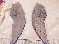 2 beautiful angel wings- from Urban Barn!