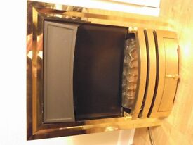 Electric Fire Excellent condition with coals