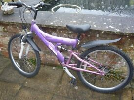SMALL LADIES OR GIRLS MOUNTAIN BIKE CONCEPT BREEZE