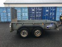 Ifor Williams trailer , General purpose trailer , Ifor Williams trailer GD85G with built in ramp