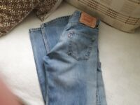 Levi 501 ladies jeans