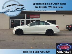 2011 Mercedes-Benz C-Class AWD!ONLY 68000km! SUNROOF