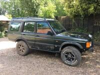 """Land Rover Discovery td5 off roader 2"""" lift kit , rock sliders , mud terrain tyres.."""