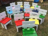 Child's chairs garden or in door use made