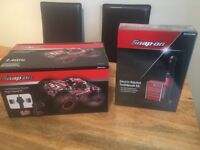 Snap on rc toy truck and rachet electric toothbrush set. Brand new. Birthday christmas mechanic